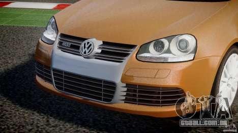 Volkswagen Golf R32 v2.0 para GTA 4 vista interior