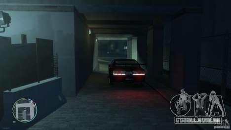 Ford Mustang GTR para GTA 4 traseira esquerda vista