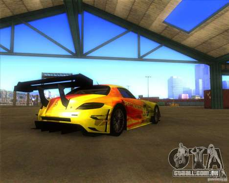 Mercedes SLS AMG - SpeedHunters Edition para GTA San Andreas esquerda vista