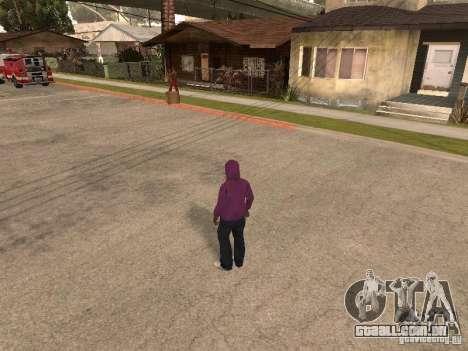 Hood para GTA San Andreas segunda tela