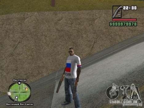 Futebol na Rússia para GTA San Andreas quinto tela