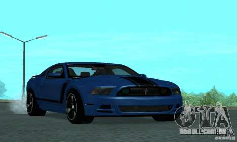 Ford Mustang Boss 302 2013 para GTA San Andreas
