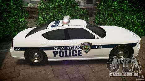 FIB Buffalo NYPD Police para GTA 4 esquerda vista