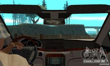 Mercedes Benz AMG S65 DUB para GTA San Andreas vista direita