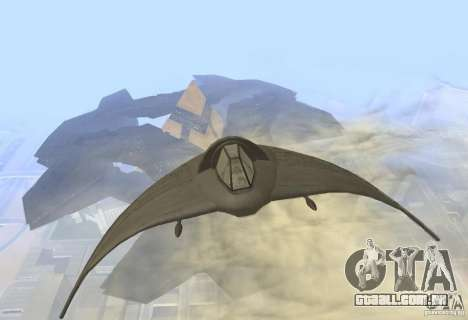 Death Glider para GTA San Andreas esquerda vista