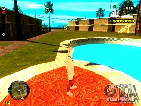Pele vagabundo v9 para GTA San Andreas quinto tela