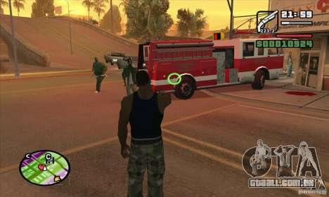 Nova vista para GTA San Andreas sexta tela