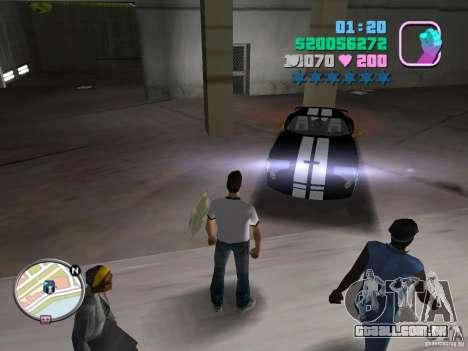 Dodge Viper Hennessy 800 para GTA Vice City deixou vista