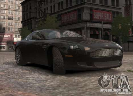 Aston Martin DB9 2008 v 1.0 para GTA 4 vista superior