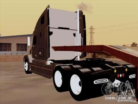 Freightliner Century ST para GTA San Andreas vista traseira