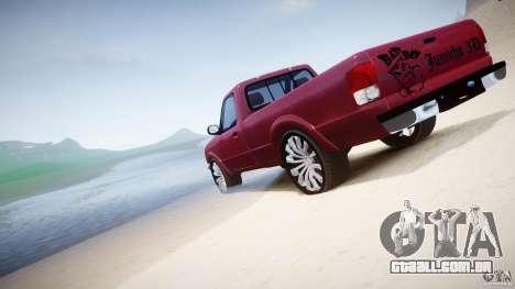 Ford Ranger para GTA 4 motor