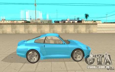 Cometa de GTA 4 para GTA San Andreas esquerda vista