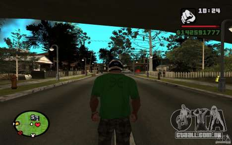 New Grove-Street para GTA San Andreas segunda tela