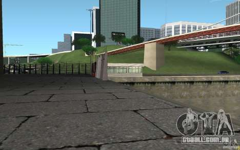 Ponto de verificação caixa de HD para GTA San Andreas segunda tela