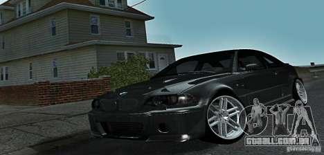 BMW M3 para GTA San Andreas