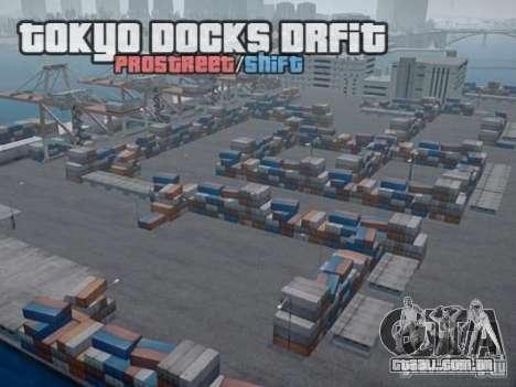 Tokyo Docks Drift para GTA 4