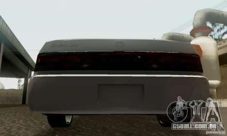 Toyota Cresta JZX90 para GTA San Andreas esquerda vista