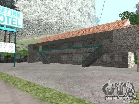 Aldeia de Angel Pine modificada para GTA San Andreas sexta tela