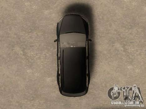 Audi Q7 TDI Stock para GTA San Andreas vista direita