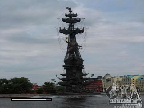 Tela de boot Moscou para GTA San Andreas segunda tela