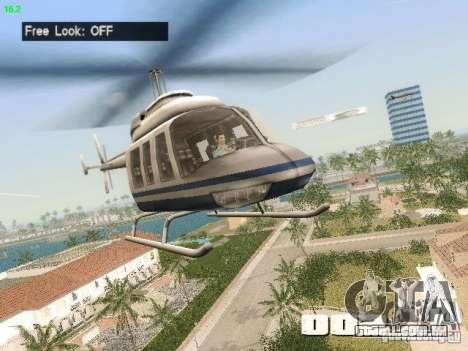 Camera Hack 2.9 para GTA Vice City