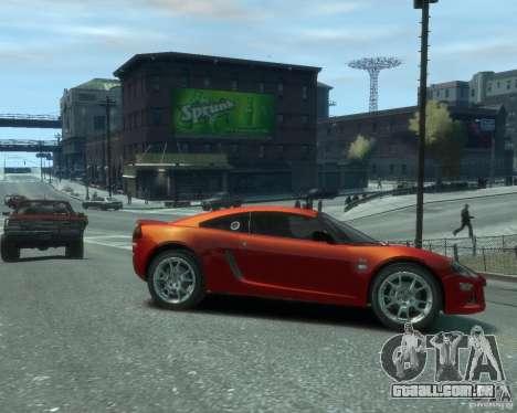 Lotus Europa S para GTA 4 vista direita