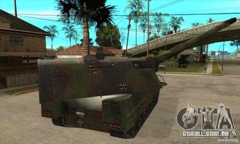 Panzerhaubitze 2000 para GTA San Andreas vista direita