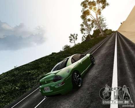 Mitsubishi Eclipse GT-S para GTA 4 vista de volta
