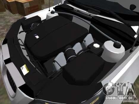 BMW M5 para GTA 4 vista interior
