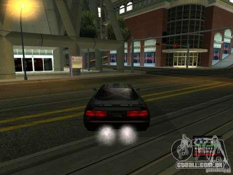 Teal Infernus para GTA San Andreas traseira esquerda vista