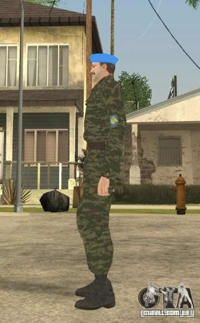 VDVšnik para GTA San Andreas por diante tela