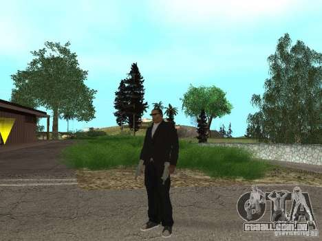 CJ Mafia Skin para GTA San Andreas terceira tela