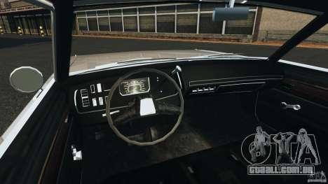 Dodge Dart 1969 [Final] para GTA 4 vista de volta