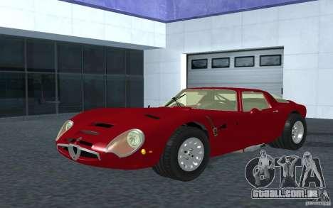 Alfa Romeo Gulia TZ2 1965 para GTA San Andreas