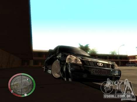 Lada Priora Dag Style para GTA San Andreas esquerda vista
