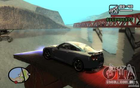 ENBSeries By Gasilovo para GTA San Andreas sexta tela