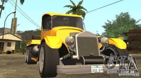 Ford Model-T Truck 1927 para GTA San Andreas vista traseira