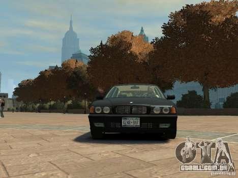 BMW 750i (E38) 1998 para GTA 4 esquerda vista
