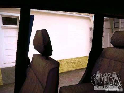 UAZ 3160 patriota para GTA San Andreas vista inferior