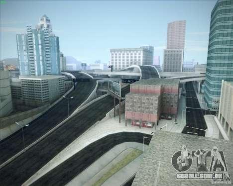 Novas estradas ao redor de San Andreas para GTA San Andreas oitavo tela