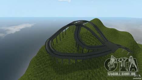 Crash Test Mountain para GTA 4 terceira tela