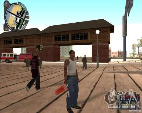 S.T.A.L.K.E.R. Call of Pripyat HUD for SA v1.0 para GTA San Andreas quinto tela