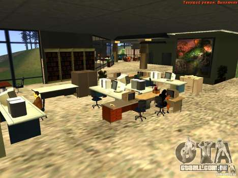 20th floor Mod V2 (Real Office) para GTA San Andreas