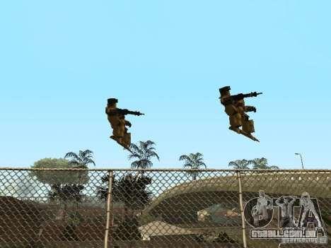 Transformadores para GTA San Andreas por diante tela