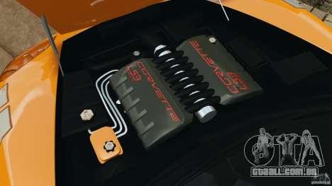 Chevrolet Corvette C6 Grand Sport 2010 para GTA 4 vista lateral