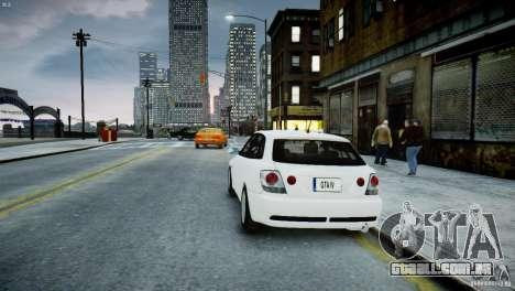 Toyota Altezza Gita Version 2 para GTA 4 traseira esquerda vista