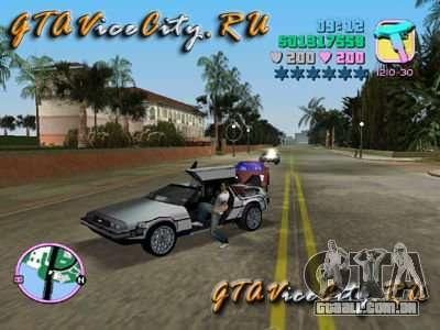 De Lorean para GTA Vice City