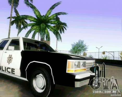 Ford Crown Victoria LTD 1991 LVMPD para GTA San Andreas vista direita
