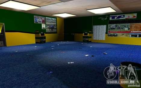 Novo escritório de Bukmejkerskaâ para GTA San Andreas sexta tela