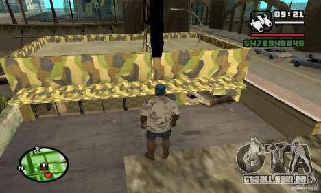 Loja de armas em Grove para GTA San Andreas quinto tela